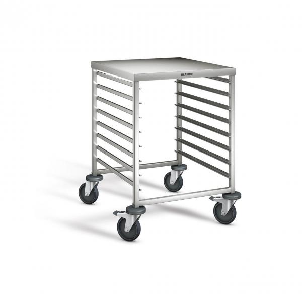 edelstahl regalwagen mit arbeitsplatte 662x733x900 mm rwra 851 900 bo 569967. Black Bedroom Furniture Sets. Home Design Ideas