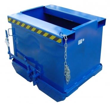 bodenklappen container tragl 1t 1000 kg inhalt 0 5cbm bxtxh 970x1150x900mm bca50ral5010. Black Bedroom Furniture Sets. Home Design Ideas