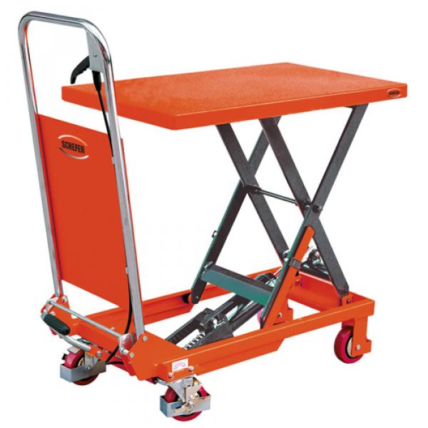 150 kg Hydraulischer fahrbarer Hubtisch Hubtischwagen Plattformwagen