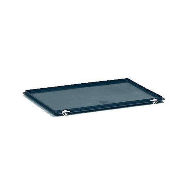 scharnier deckel f r kunststoffkasten lxbxh 600x400 mm 1338. Black Bedroom Furniture Sets. Home Design Ideas