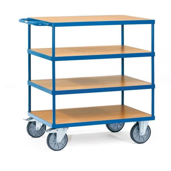 schwere tischwagen 600 kg 4 b den 2442. Black Bedroom Furniture Sets. Home Design Ideas
